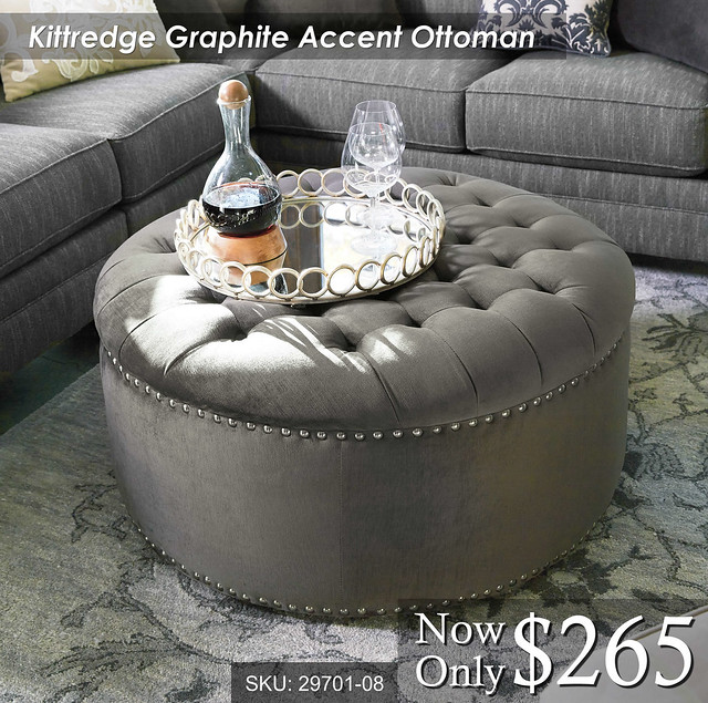 Kittredge Accent Ottoman