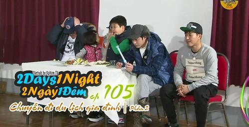 [Vietsub] 2 Days 1 Night Season 3 Tập 105