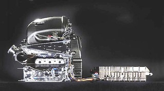 MESIN F1 Mercedez PU106C Hybrid Turbo 1.6 L V6 - Rio H IND