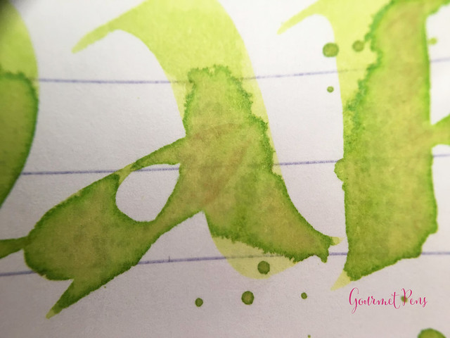 Ink Shot Review Lamy Charged Green 2016 Limited Edition @Fontoplum0 (7)