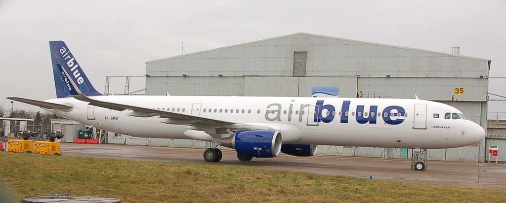 AP-BMM, 04032016, EAST MIDLANDS, AIR BLUE, A321