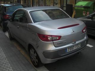 Mitsubishi Colt CZC (rear), San Sebastian, Spain.