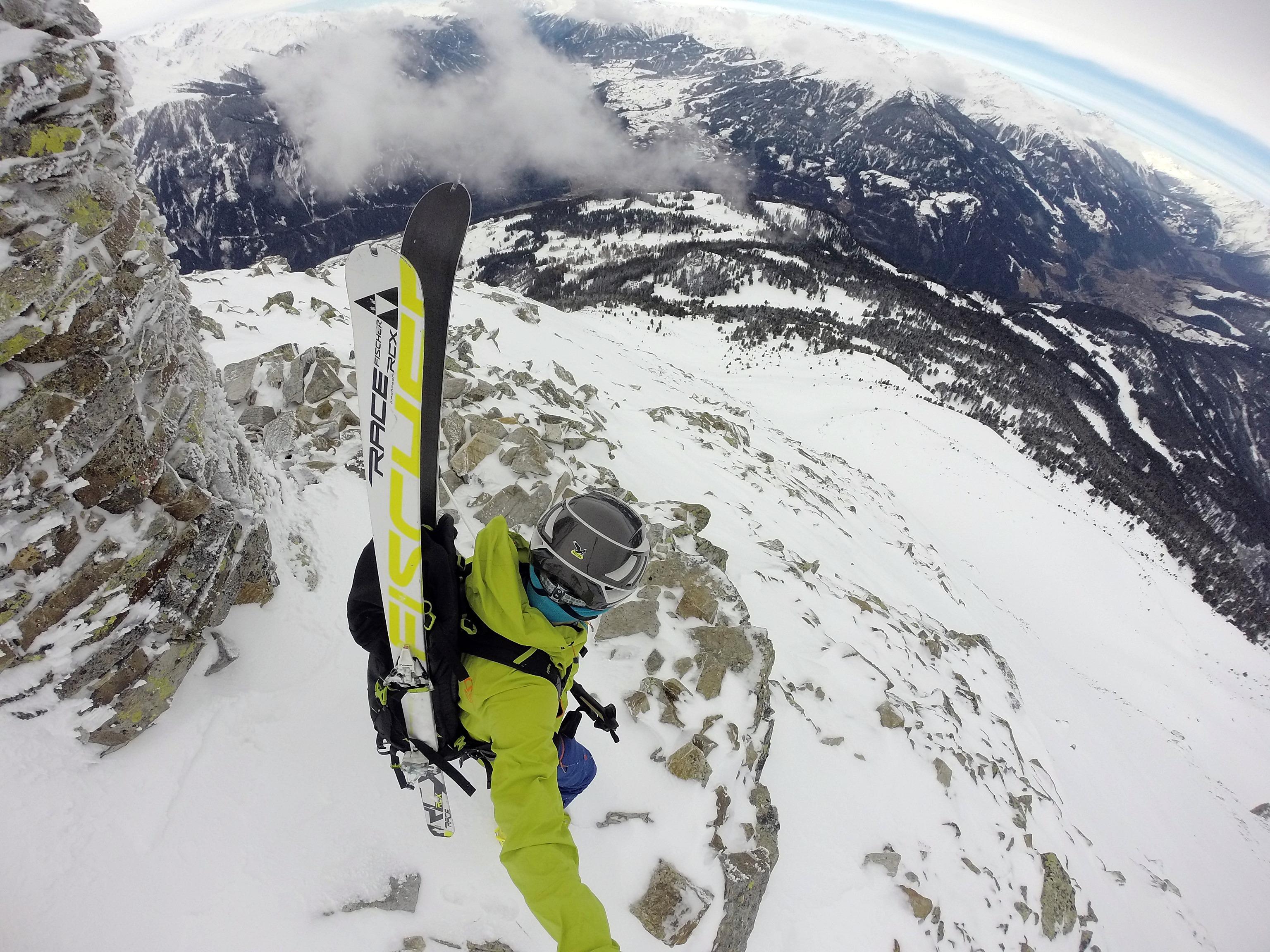 Aifner Spitze (2.779m), 3.3.2016