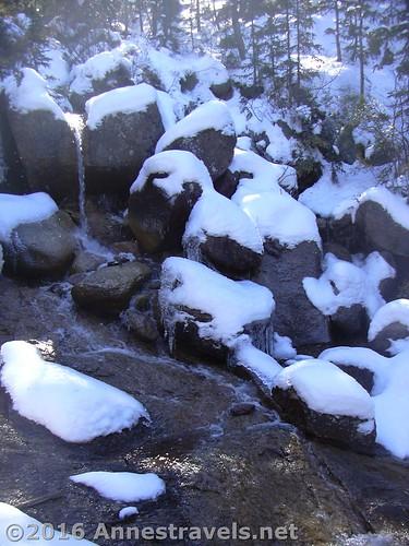 Horsethief Falls, Pike National Forest near Divide, Colorado