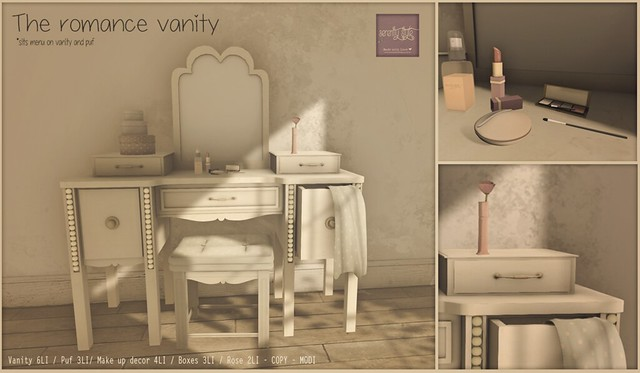Serenity Style- The Romance Vanity