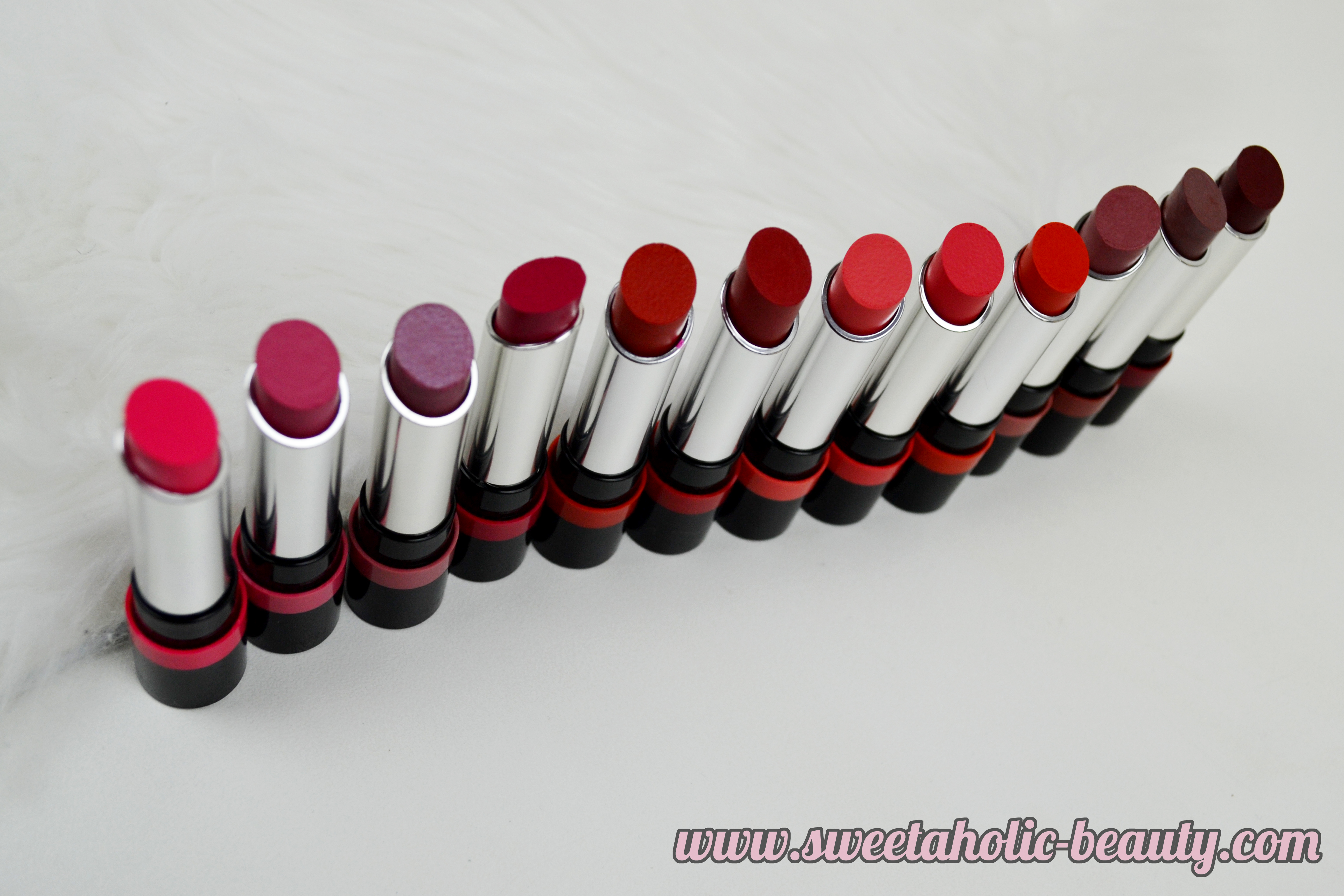 Rimmel London The Only One Lipstick Collection Review & Swatches - Sweetaholic Beauty