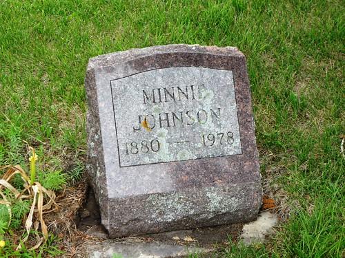 henningminn minnesota ottertailcountyminn trinitycemeteryhenningminn cemeteries gravestones johnson martinson johnsonminniemartinson