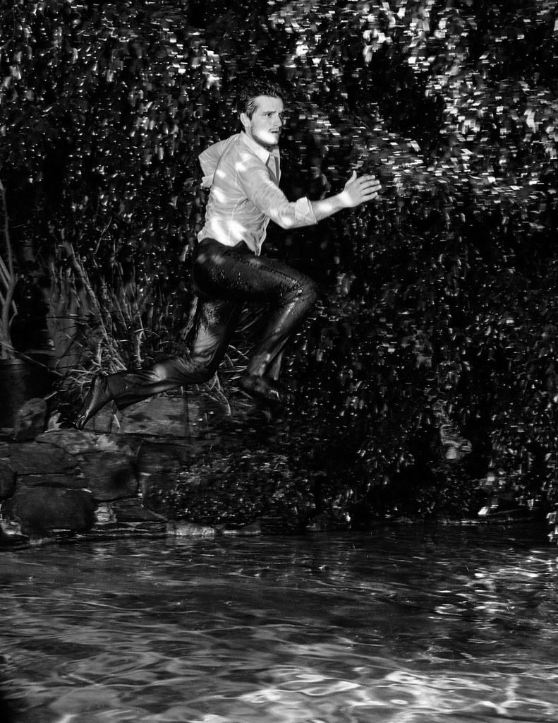 Джош Хатчерсон — Фотосессия для «Flaunt» 2015 – 3