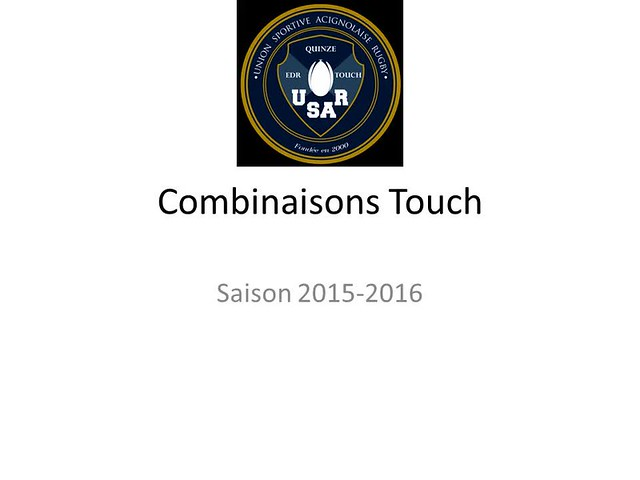 USAR combinaisons Touch