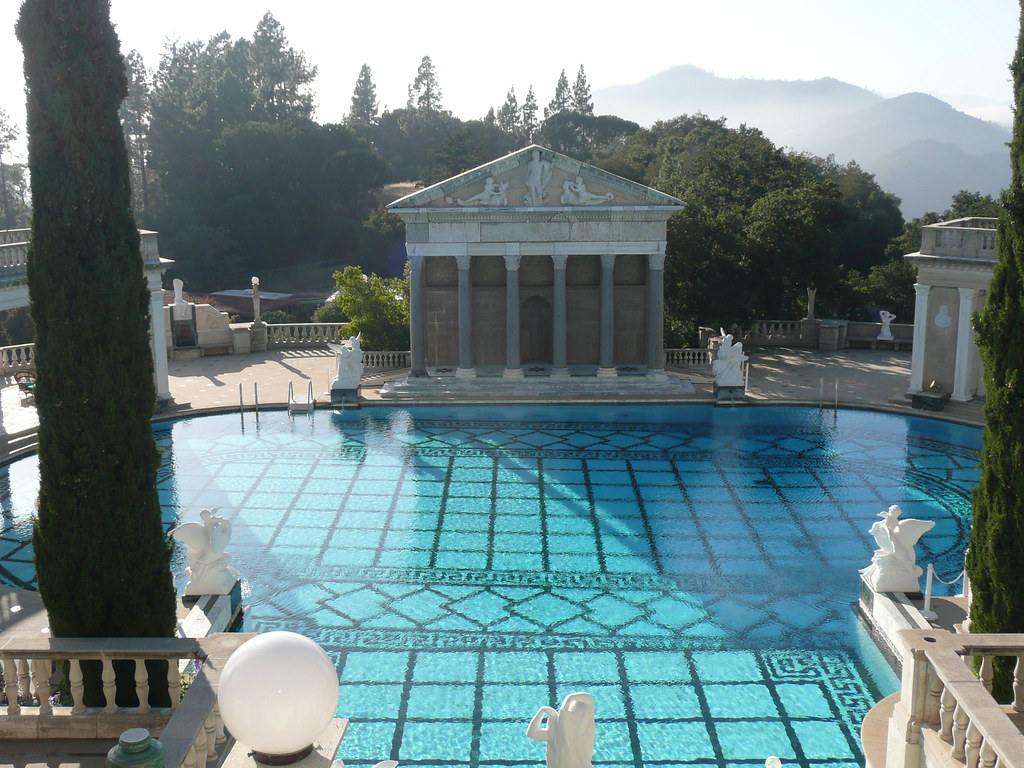 Neptune Pool and panoramic vistas