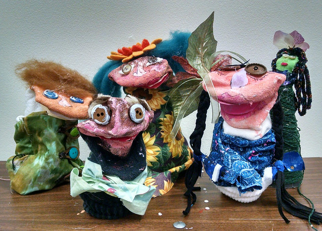 Gang of puppets