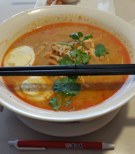 2016-Mar-17 Jane's at the Heights - Chicken Laksa