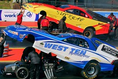 Kevin Kent and Gordon Smith - Funny Car Series
