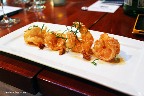 Maple Walnut Prawns