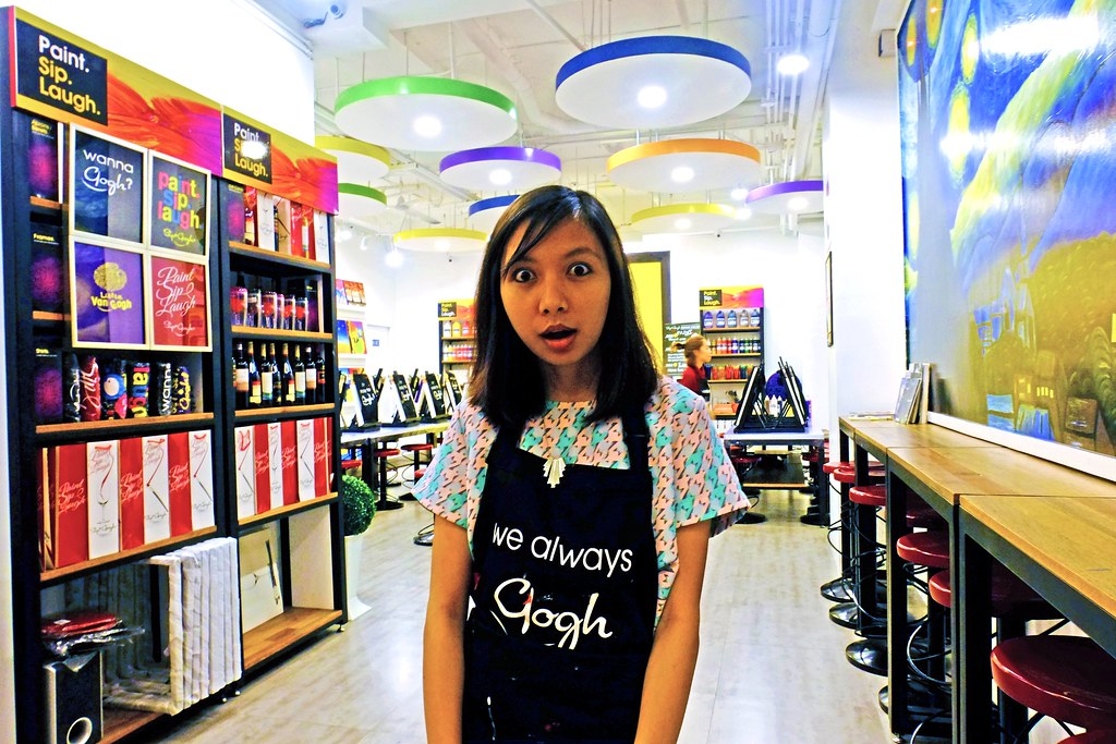 Sundae Scoops goes to Sip and Gogh Kapitolyo Via Francesca Mateo
