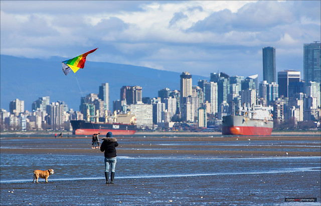 Flying The Colors Of Vancouver