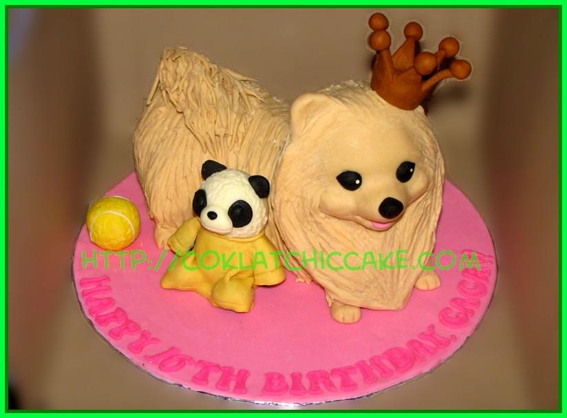 Cake doggie