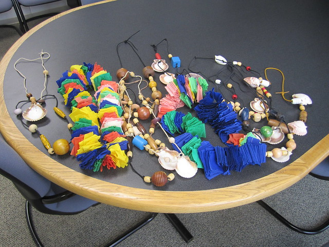 Leis Made By Portsmouth STEM Academy