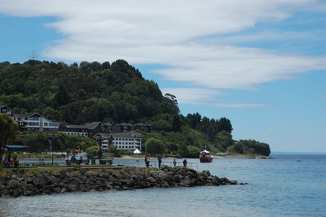 Views of Lago Llanquihue from Puerto Varas, Chile