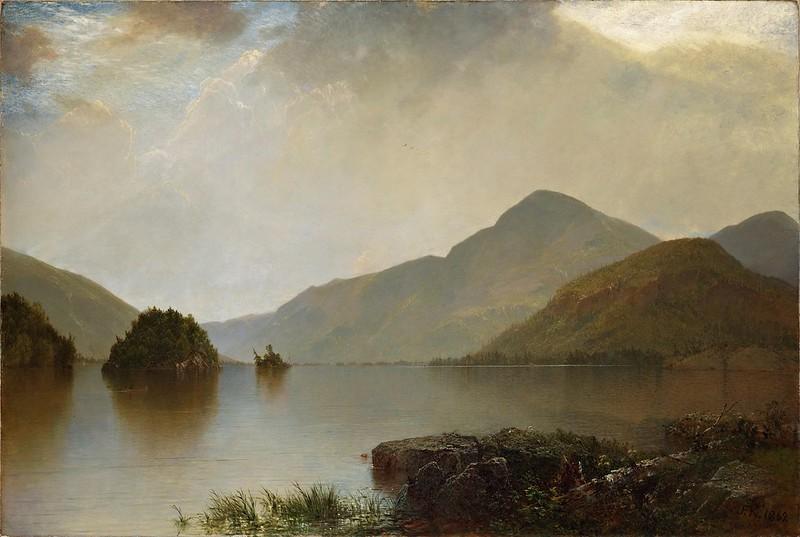 John Frederick Kensett - Lake George (1869)