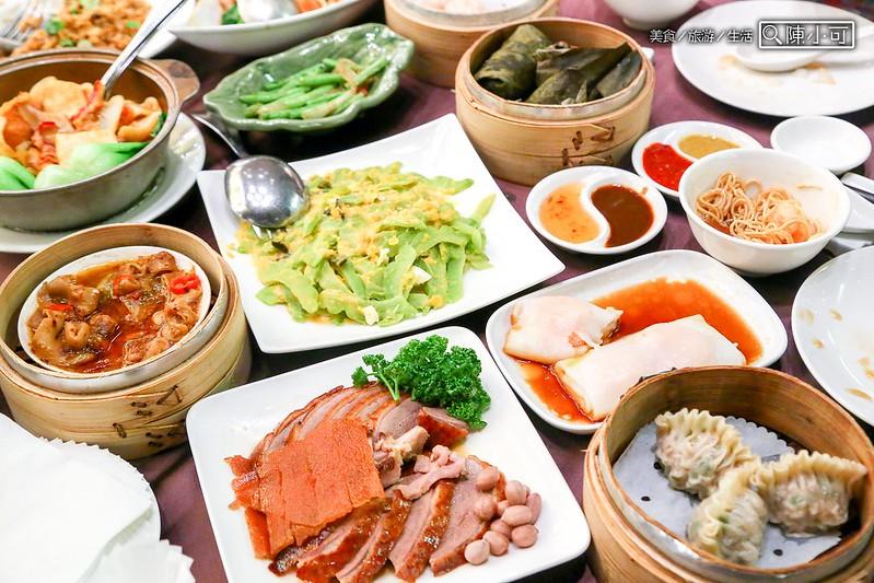 【台北美食餐廳】華漾大飯店 港式飲茶,傳統港式推車飲茶,聚餐吃飯推薦餐廳