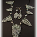 Forest white tree necklace by Eala's Jewels