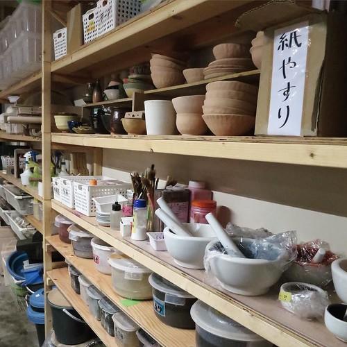 5階は陶芸 #makersbase