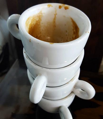 Testing espresso. #caffedbolla #espresso #coffee #slc
