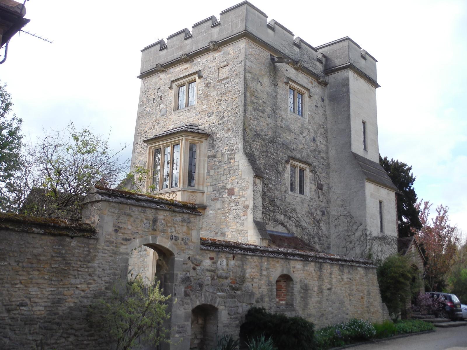 Manor House, Little Wittenham SWC Walk 44 - Didcot Circular