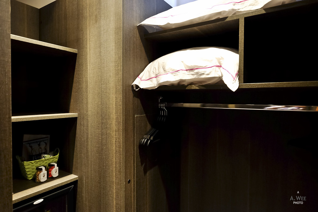 Minibar in the closet