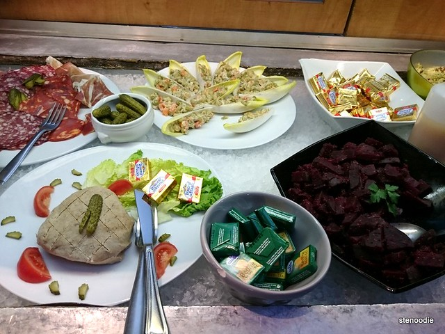 appetizers in buffet