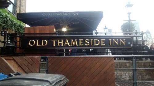 Old Thameside Inn London South Bank Dec 15 1