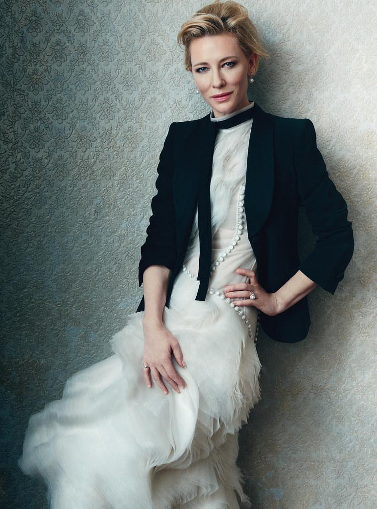 Кейт Бланшетт — Фотосессия для «Harper's Bazaar» UK 2015 – 8
