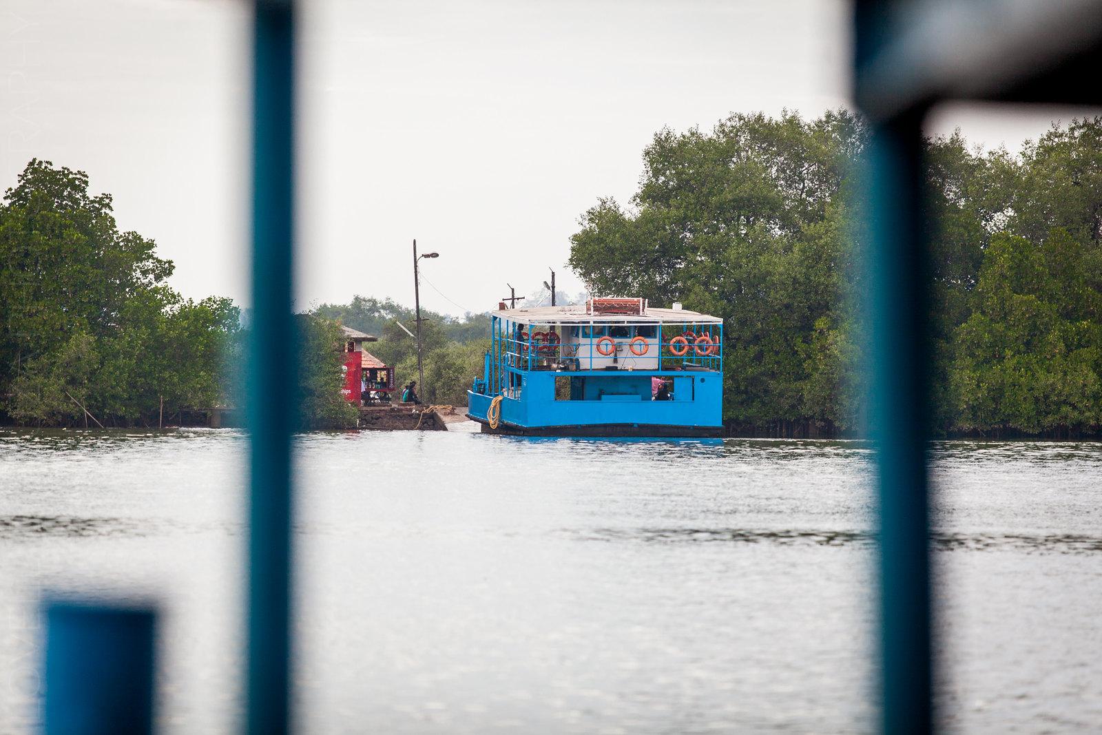 Ferry at Divar