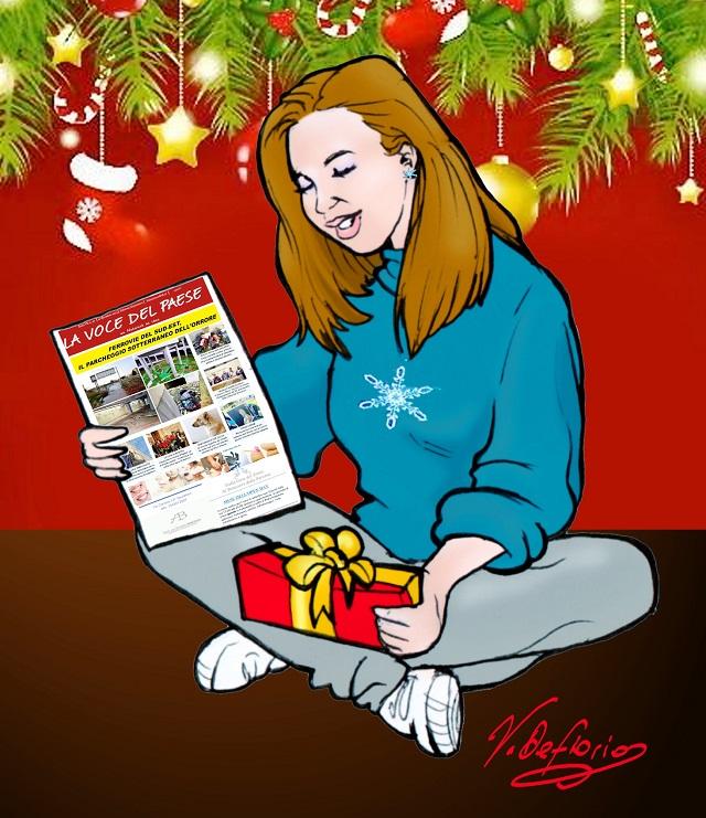 Noicattaro. Vignetta buon Natale intero