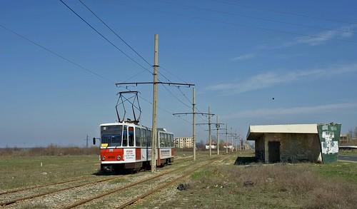 berlin tram romania streetcar tatra braila rumänien trambahn 9050 ckd kt4 kt4d strasenbahn ckdpraha linie24 2190504 braicarbrăila