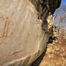 Prehistoric Pictograph, Rock Shelter, Franklin County, Tennessee 3 by Alan Cressler