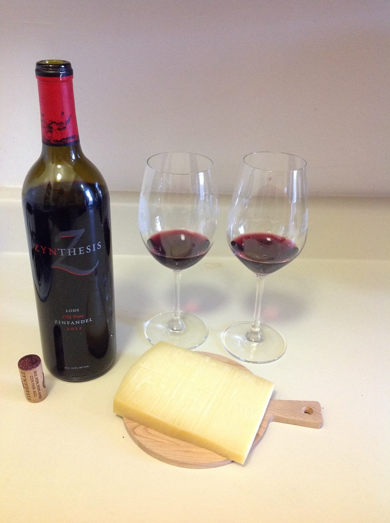 Zinfandel and Aged Gruyere 1