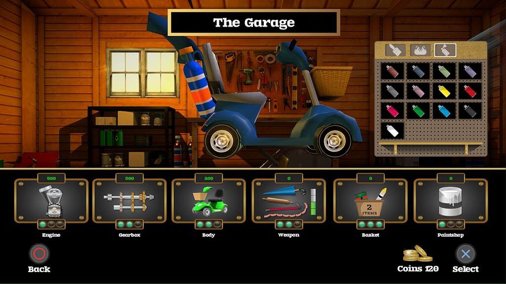 Coffin Dodgers on PS4