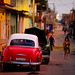 Evening Light on Classic 1950s American cars in Trinidad, Cuba by justinclayton99