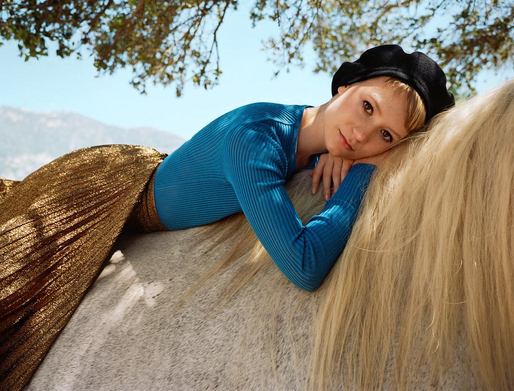 Миа Васиковска — Фотосессия для «Vogue» 2015 – 2