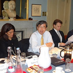 President Nakao speaks at OMFIF Roundtable in the United Kingdom