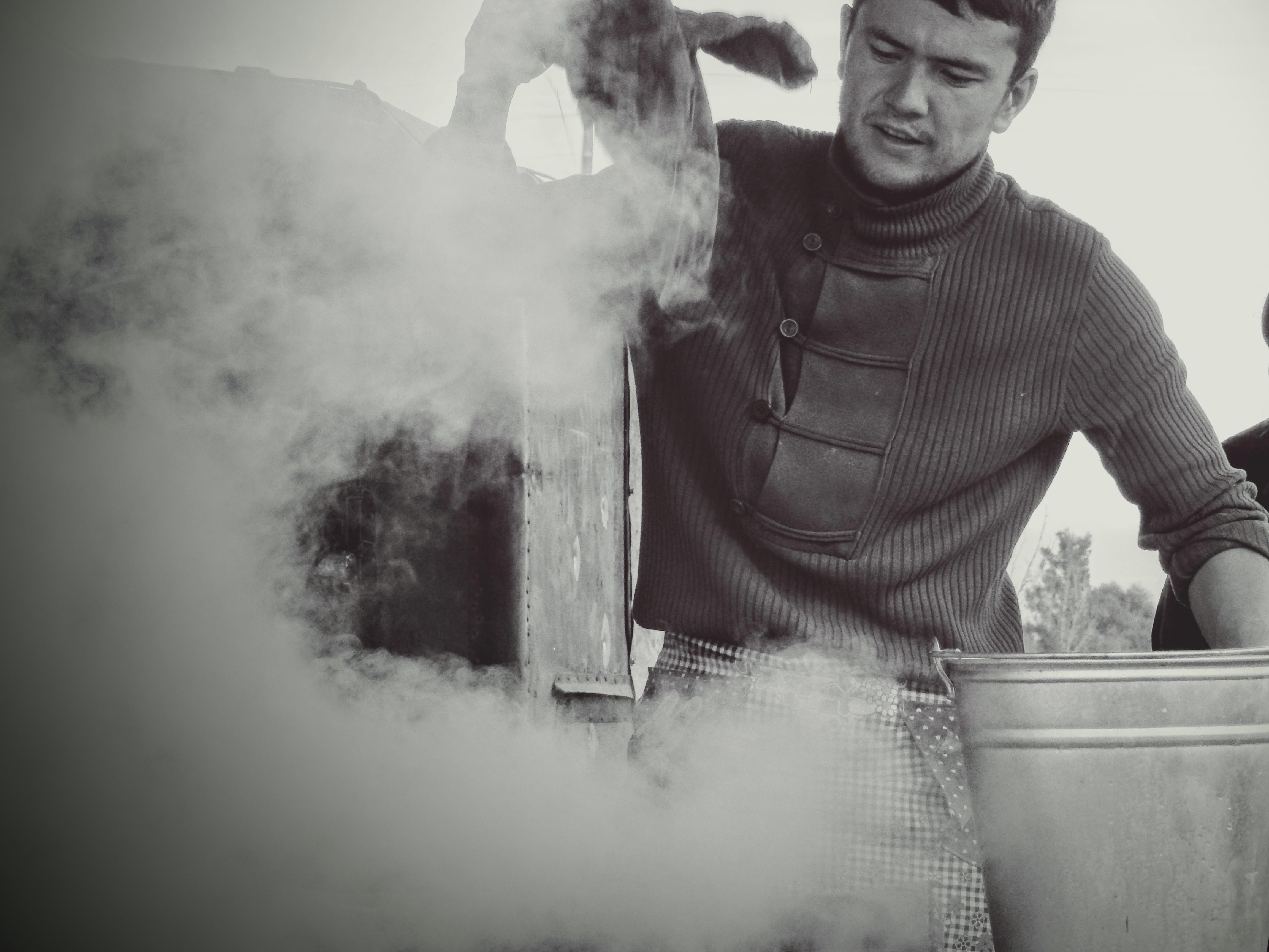 Steaming Tandir.