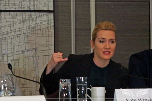 The Establishing Shot: TRIPLE 9 KATE WINSLET AND JOHN HILLCOAT DISCUSS THE EFFECT COSTUMES HAVE ON PERFORMANCE - CORINTHIA HOTEL LONDON
