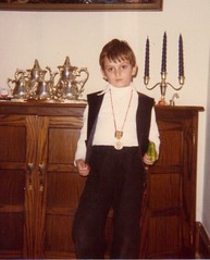 That's me doing my best tuff guy Han Solo impersonation with my squirt gun  1979