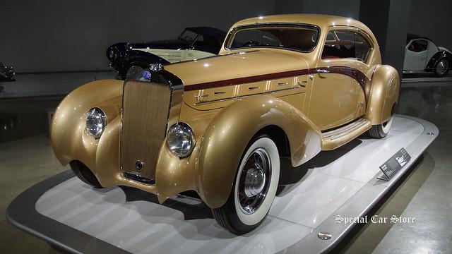 1937 Delage D8-120 Coupe Aerosport by Letourneau et Marchand