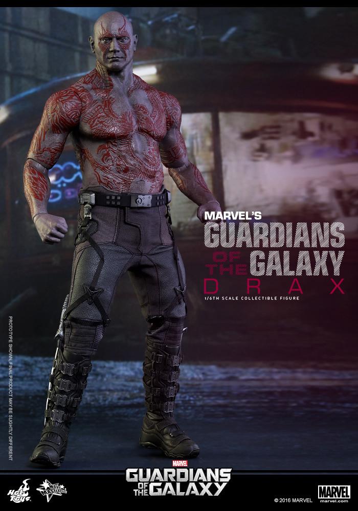 Hot Toys – MMS355 – 星際異攻隊【毀滅者:德拉克斯】Drax 1/6 比例人偶作品