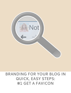 Not Dressed As Lamb | Branding For Your Blog in Quick, Easy Steps #1 Get a Favicon