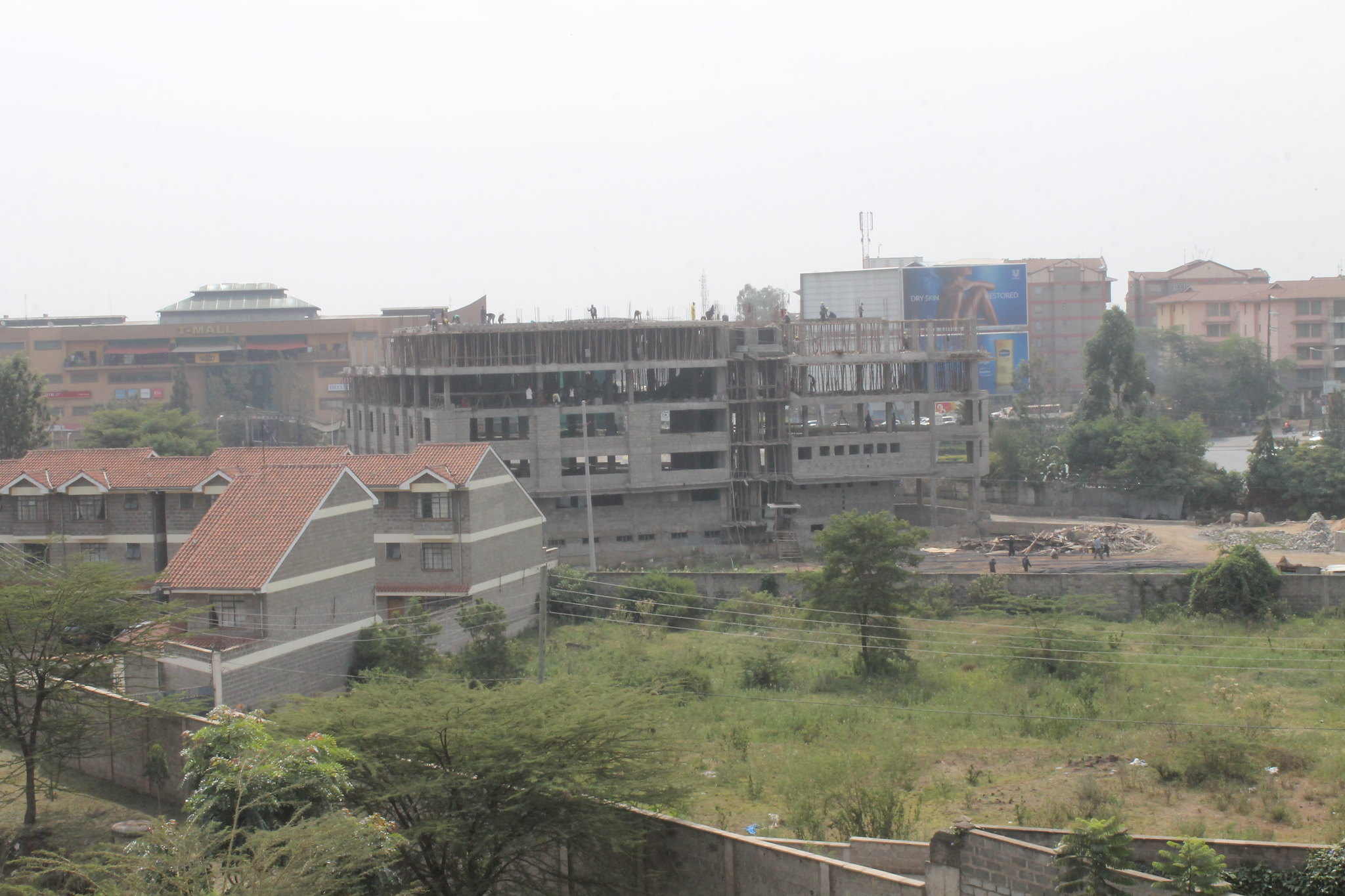 Construction in Nairobi,