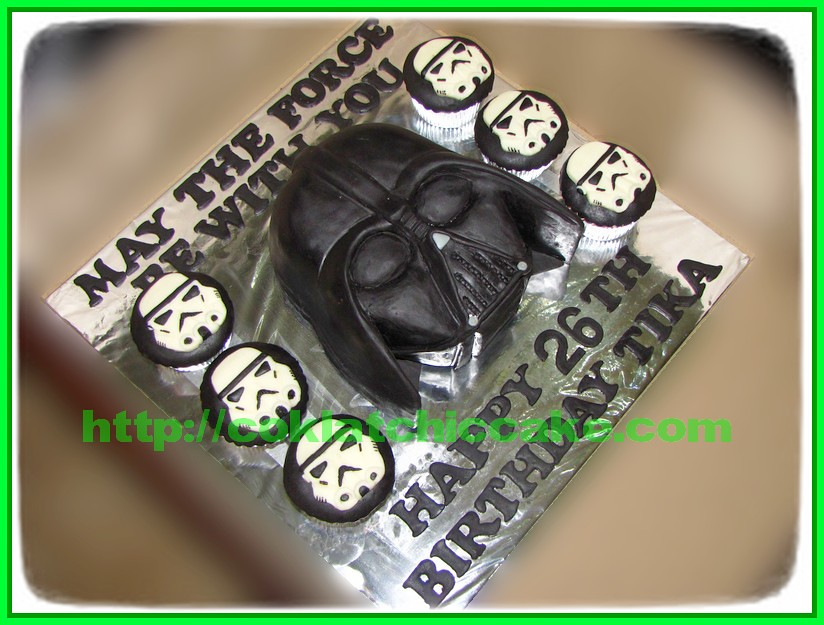 Cake Darth Vader / Cake Star Wars